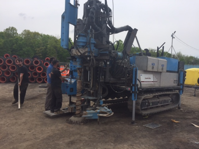 GT-8 On Geotech Site in Canada