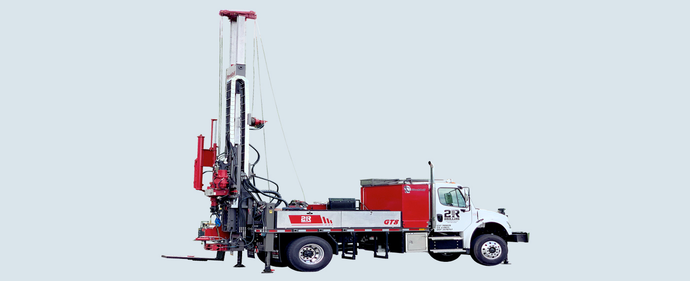 Long Stroke Multi-Purpose Geotech Drill